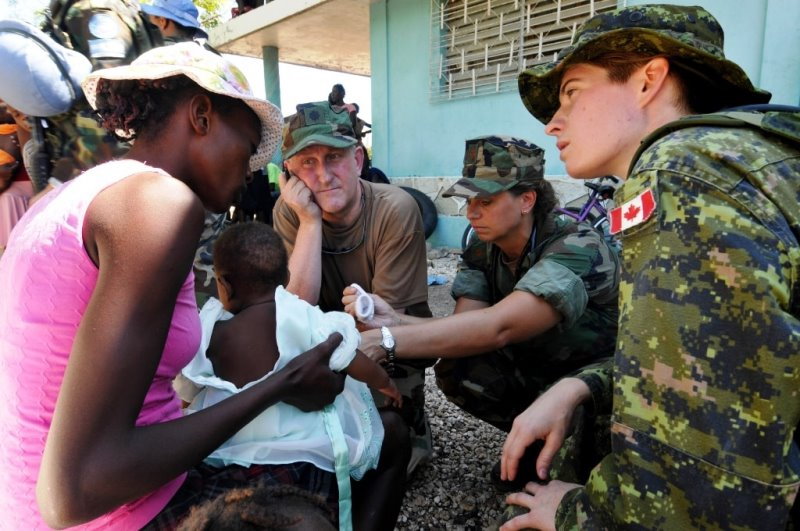 The Canadian Armed Forces in Haiti