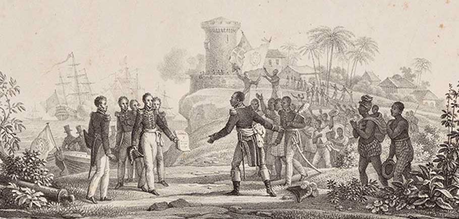 When France extorted Haiti